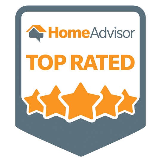 Top Rated HomeAdvisor Badge