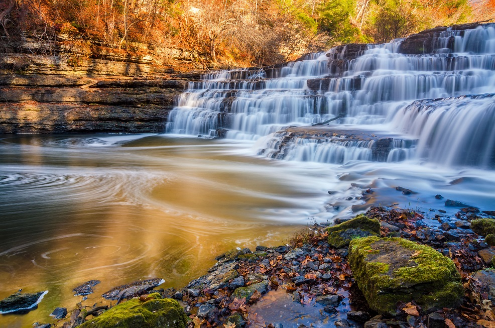 Burgess Falls State Park Tennessee - Swimming Holes Near Nashville