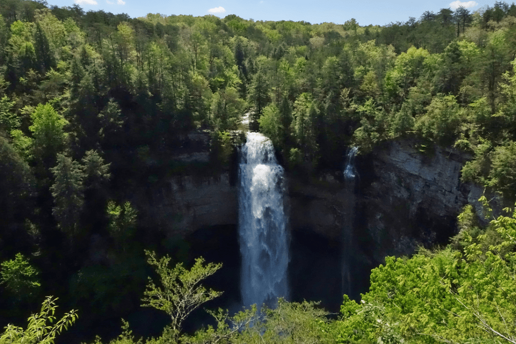 Swimming Holes in Tennessee - Fall Creek Falls
